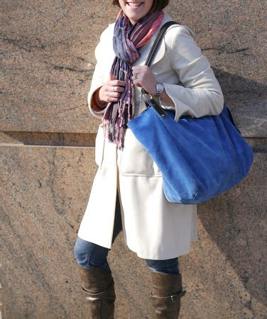 Investing in a high-quality bag can help pull a look together, plus it can store everything a busy mom on the go needs!