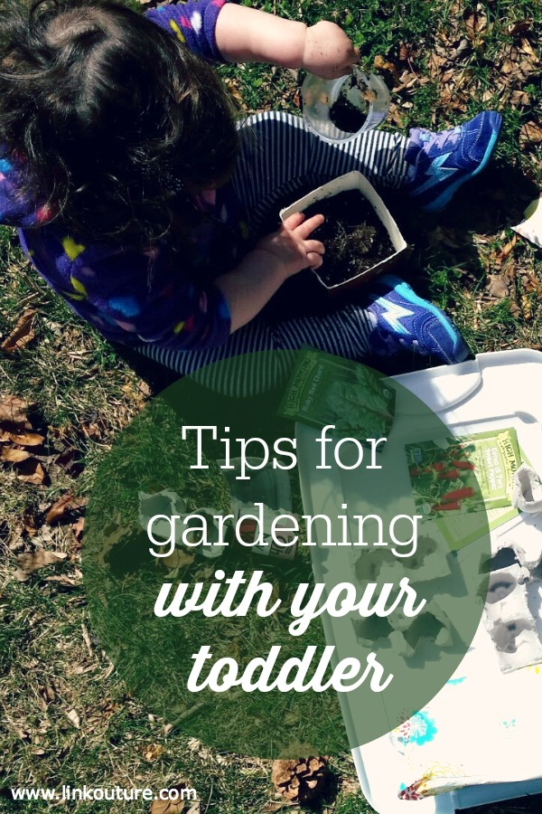 Planting and playing with dirt are fun sensory activities to do with young children. Get the most out of gardening with your toddler with these 7 tips!