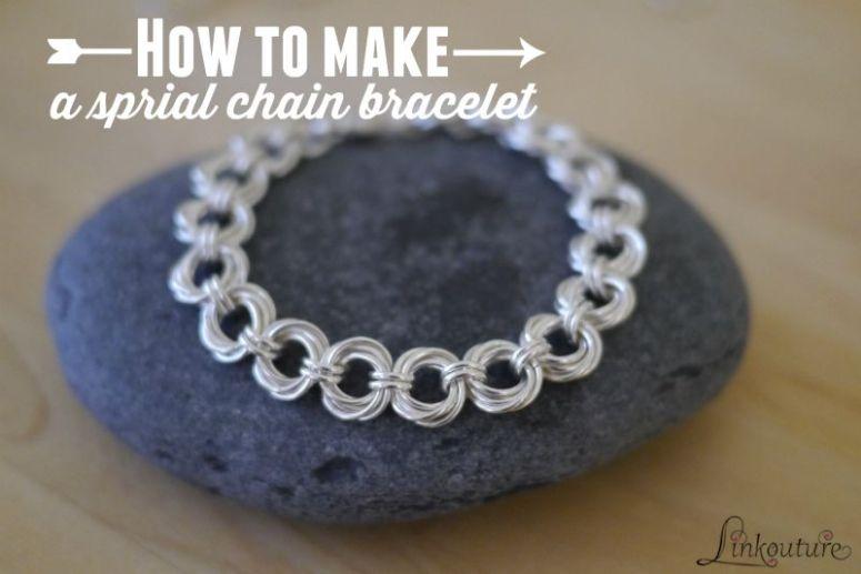 spiral-chain-bracelet