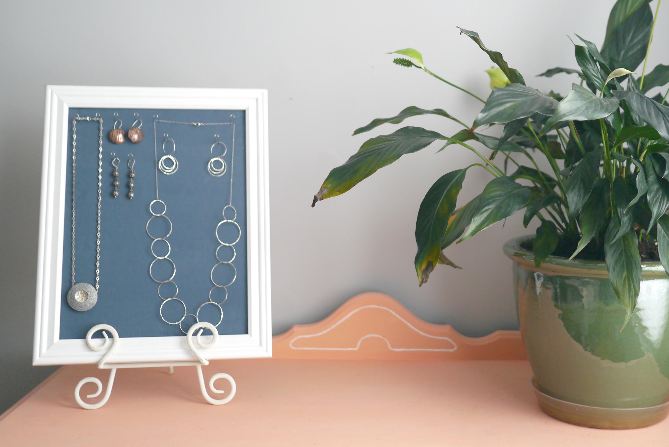 DIY Foam Jewelry Storage Ideas