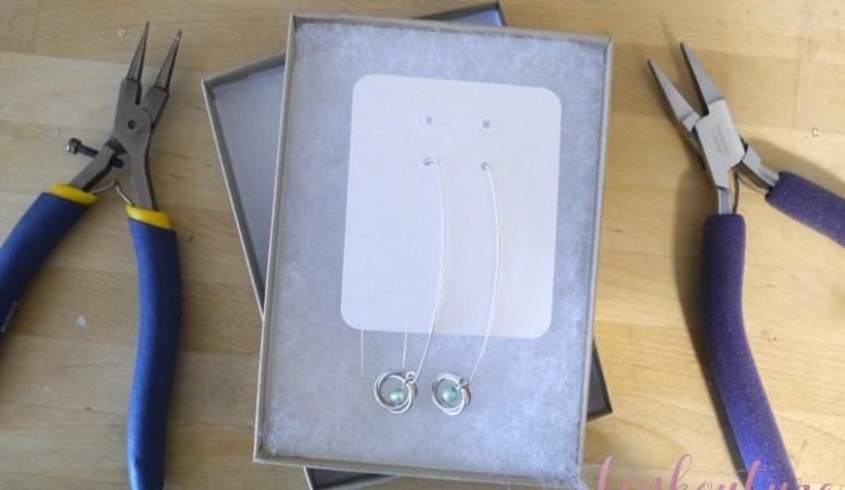 Easy DIY bold dangle earrings for classy ladies