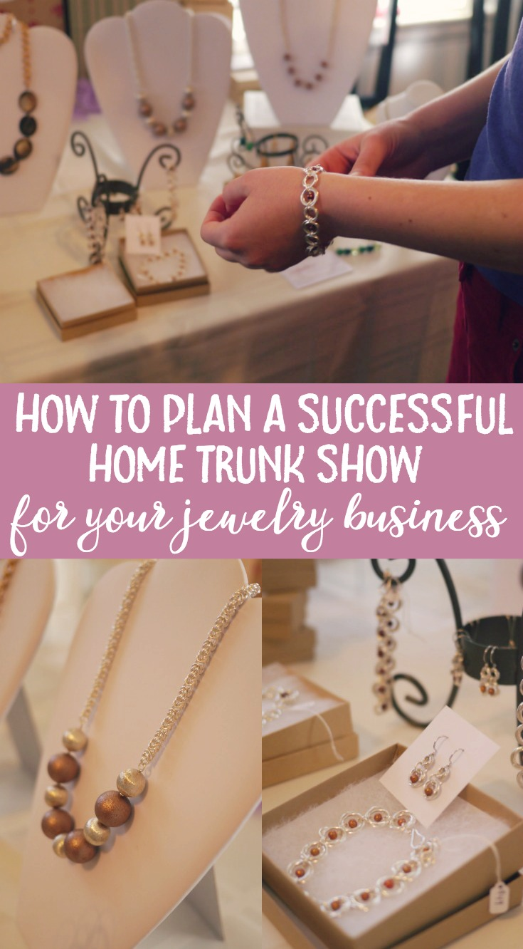Whether you are a seasoned business owner or just starting out, these tips will help you plan out a successful home trunk show to boost sales.