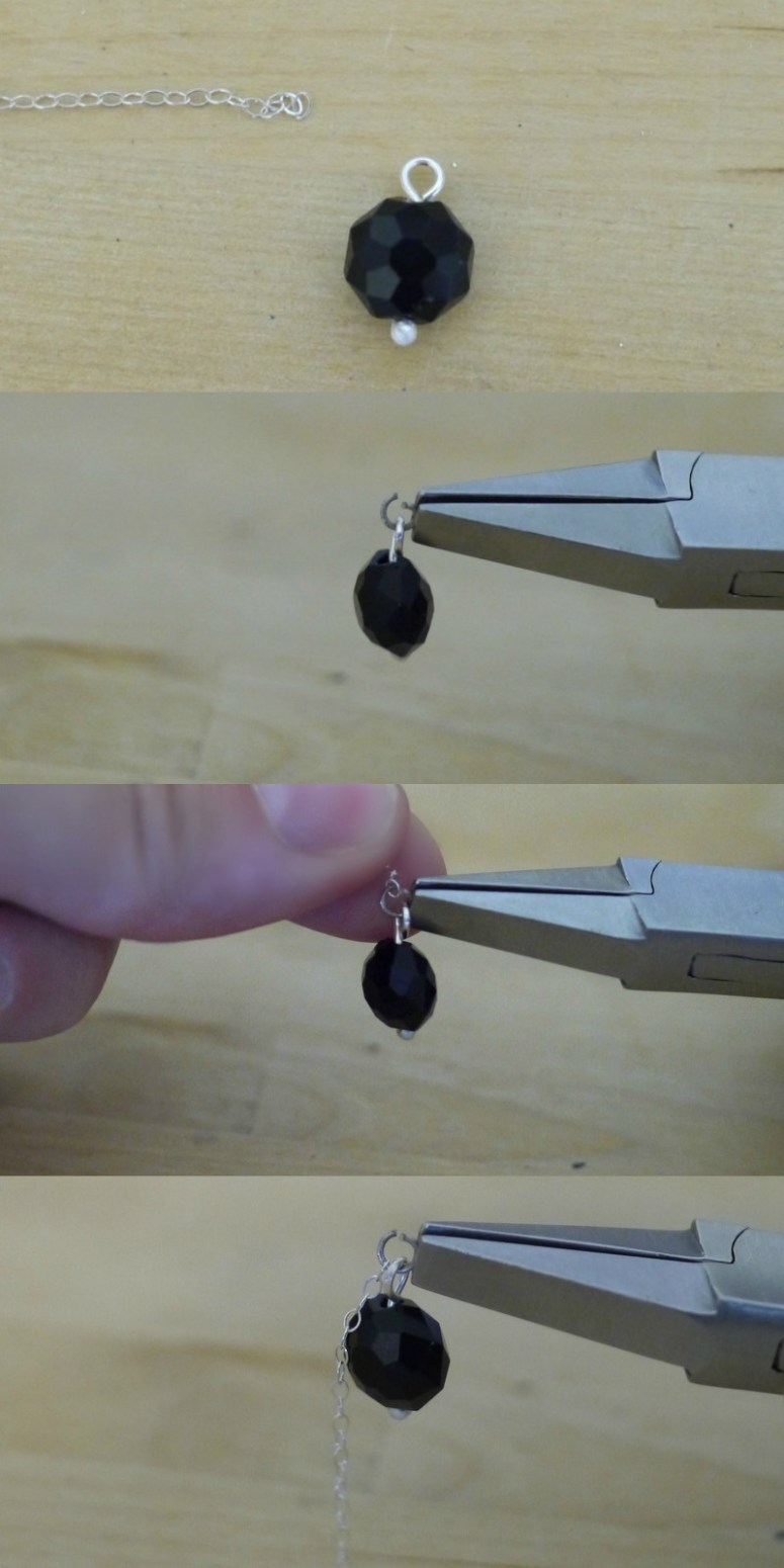 How to make a chain lariat necklace