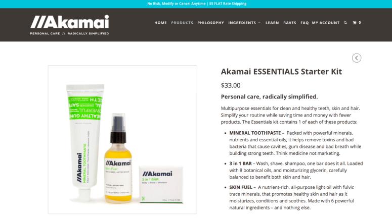 Akamai essentials starter kit