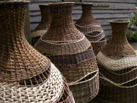 Willow Lampshades - Lin Lovekin - Basketmaker