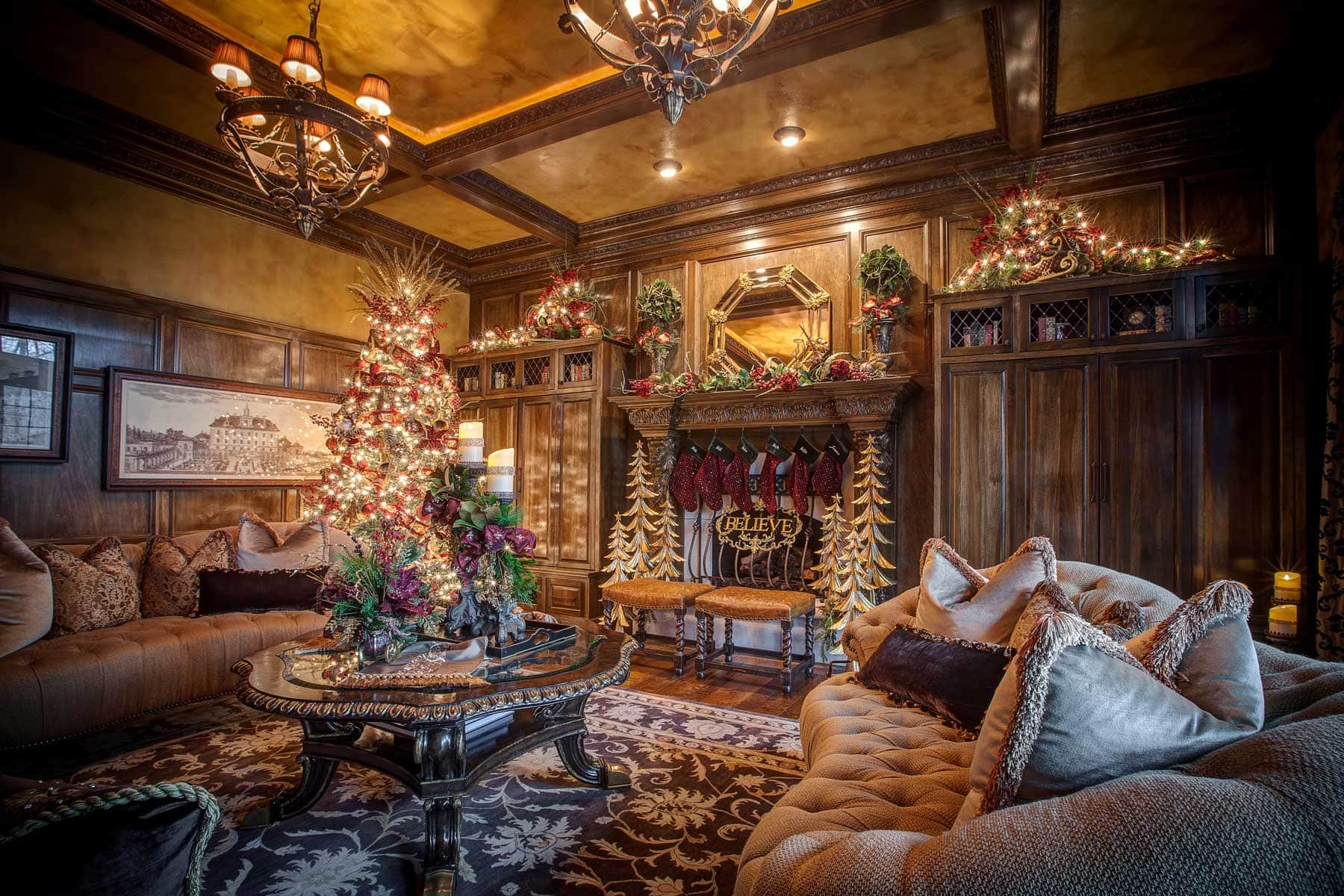 pictures of living room decorated for christmas colors with beige furniture home decor - linly designs