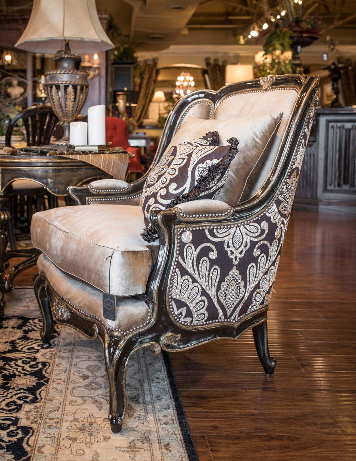 marge carson chairs gliding rocking chair covers dealers illinois linly designs