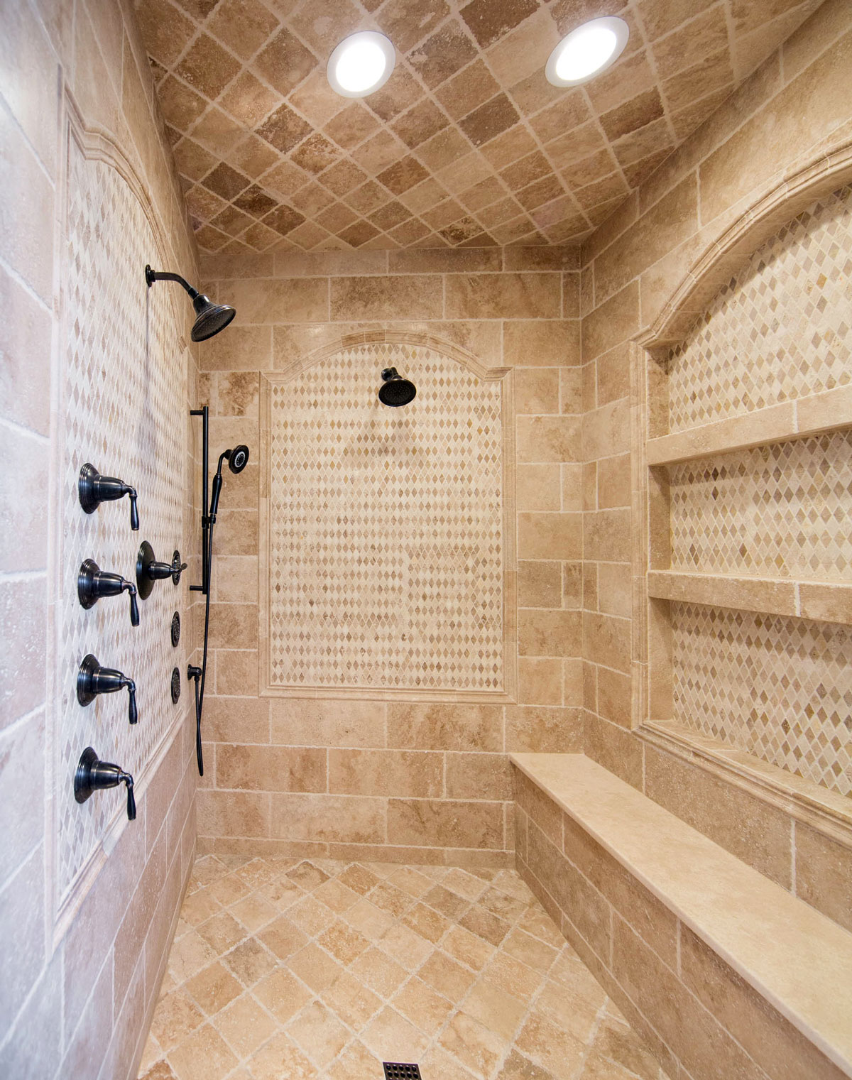 Custom Walk In Shower Remodel