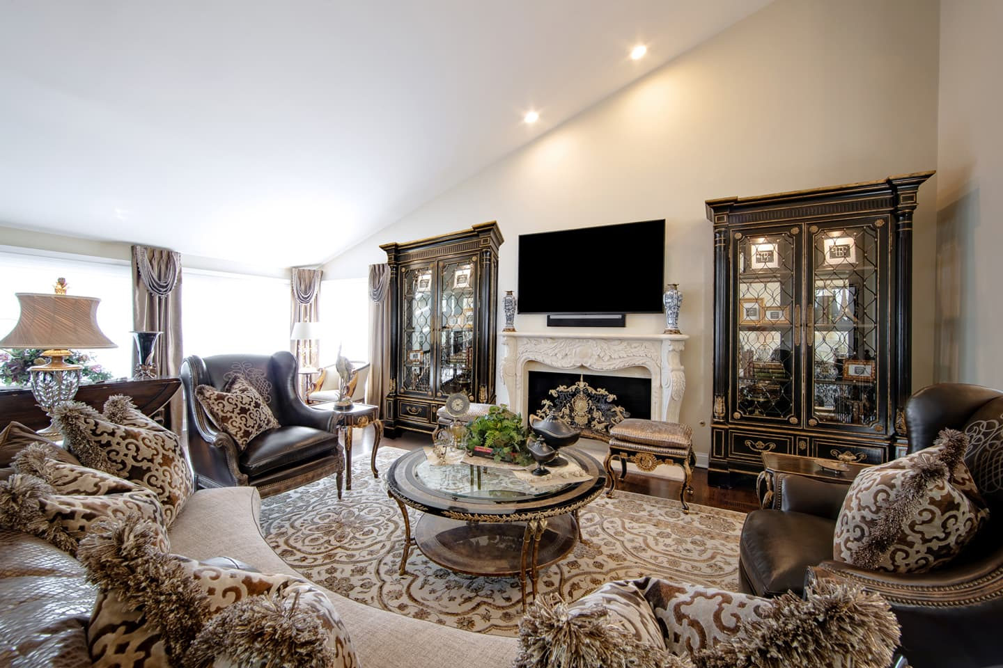 4 Ways To Create A Luxurious Living Room Linly Designs