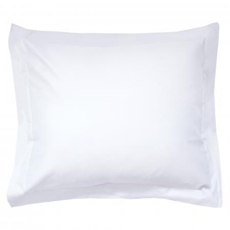 taie d oreiller uni 100x80 cm 100 coton alto blanc