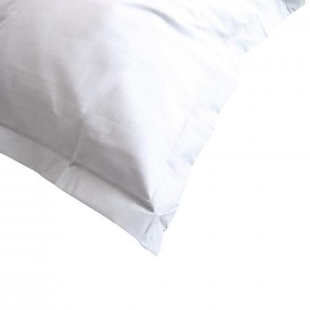 taie d oreiller uni 80x80 cm 100 coton alto blanc