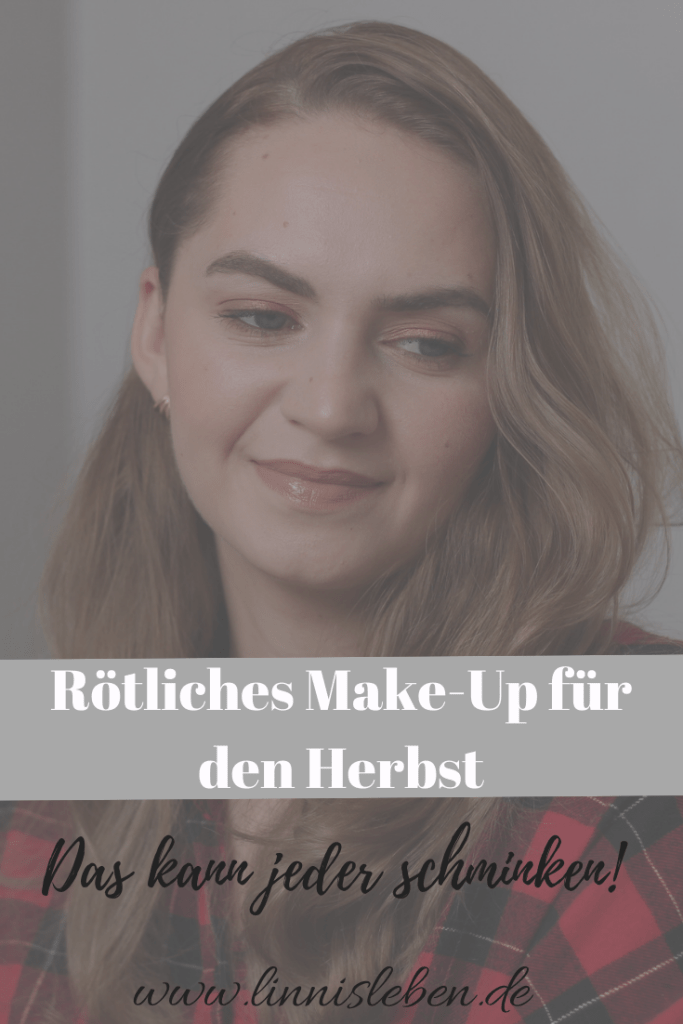 Rötliches Make-Up
