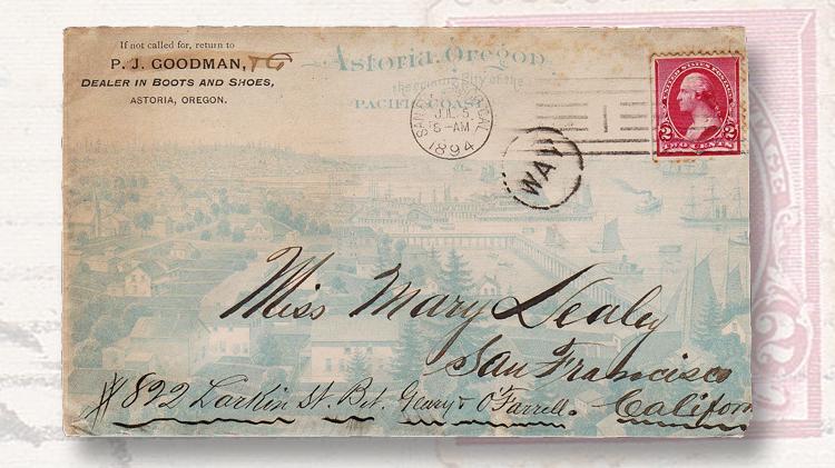 Way letters Classic US Postal History  Linnscom