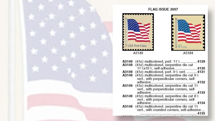 2007 First Class Flag Stamp