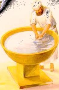 Jesús aún sigue lavando nuestros pies con su palabra