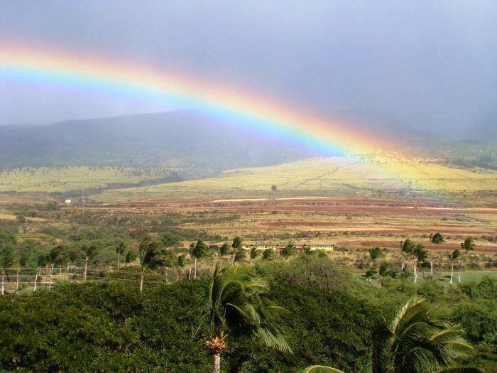 Arcoiris en Lahaina, Maui