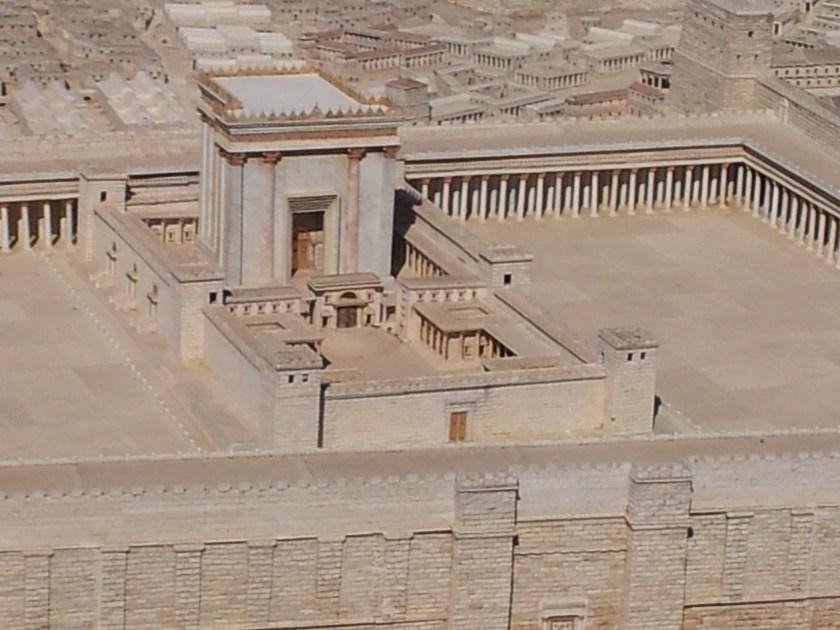 Replica del Templo en el Museo de Jerusalén