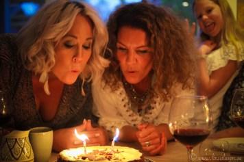 Både jag och Cia har fyllt år, så det blev lite tårta.