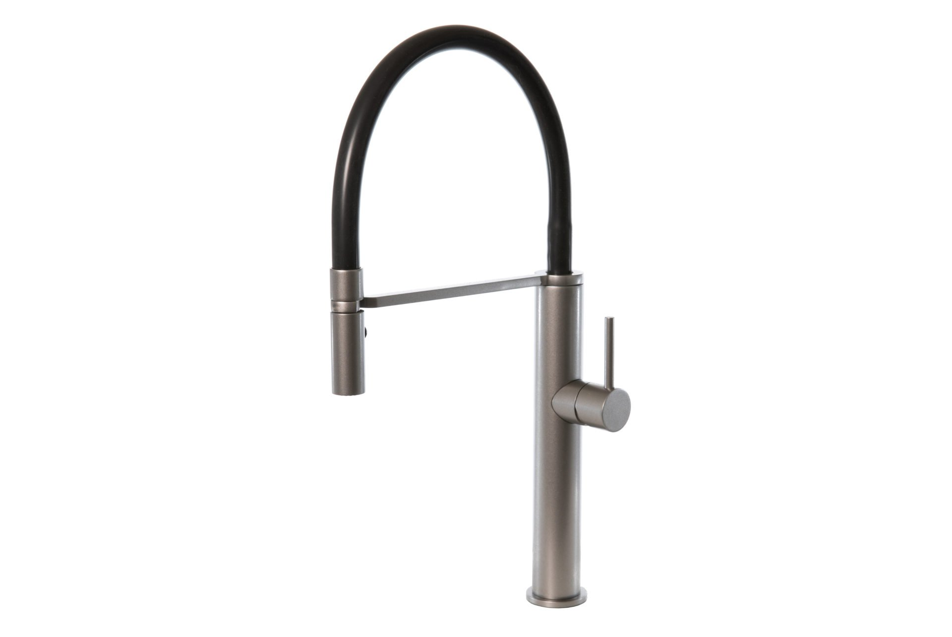 Luca Grey Wolf Pull Out Sink Mixer