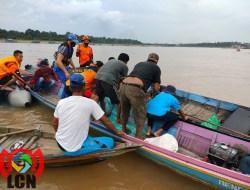 Akhirnya Membuahkan Hasil, Pencarian Irvan Tenggelam di Sungai Barito Ditemukan Tak Bernyawa