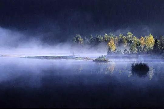 les vosges sont riches de lacs tourbeux, caractérisés par la présence de
