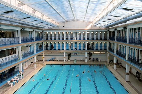 Paris  La piscine Pontoise Ve  Pontoise Ve
