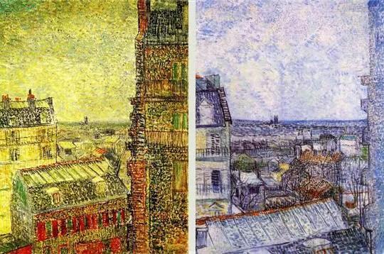 rue Lepic, van Gogh