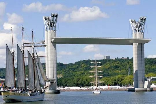 pont gustave flaubert rouen