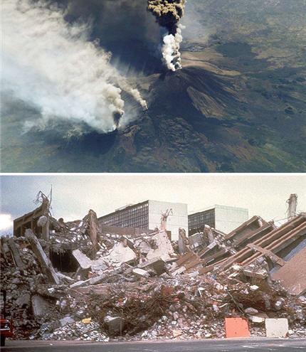 Voyage au centre de la Terre volcans tremblements de terre tectonique