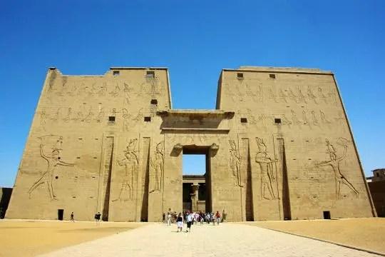 le temple d'horus à edfou