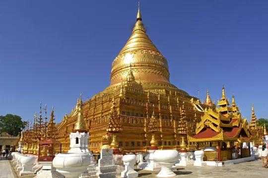 pagode myanmar birmanie