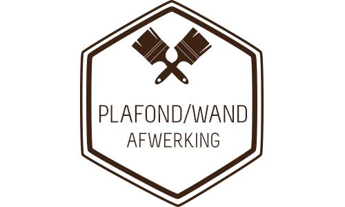 Plafond- en wandafwerking