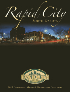 2015 Rapid City Chamber Directory
