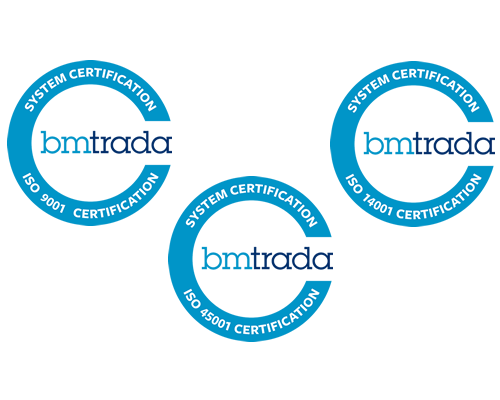 BMTrada: ISO 9001 - ISO 14001 - OHSAS 18001