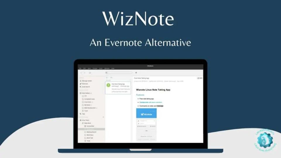 WizNote Evernote alternative