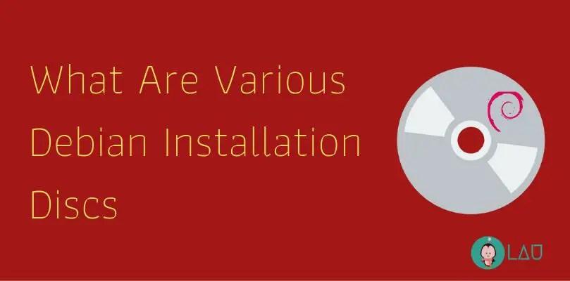 debian installation disks