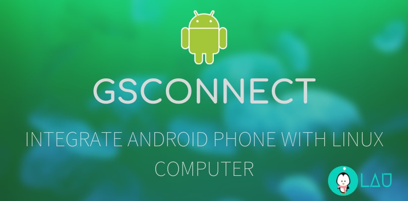 GSConnect Integrate Android Phone With Linux Computer