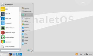 ChaletOS Linux xfce desktop