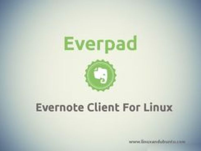 Everpad Client To Use Evernote In Ubuntu