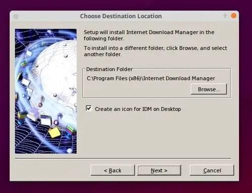 IDM on ubuntu