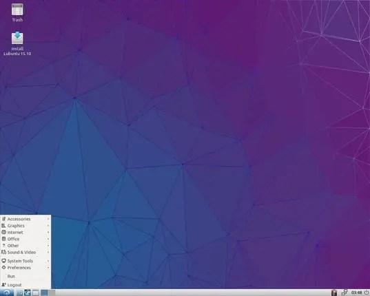 Lubuntu lightweight linux distro