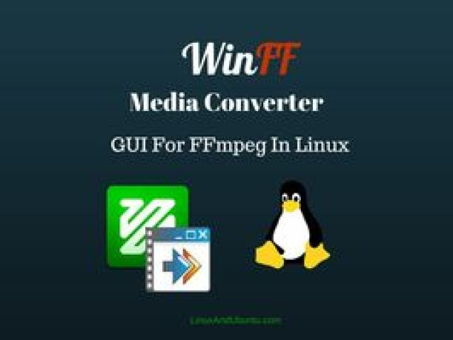 WinFF Converter FFmpeg GUI [How To Install & Use In Ubuntu Linux