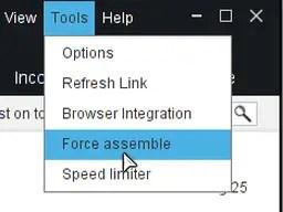 XDM force assemble feature