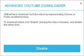XDMan advanced Youtube downloader