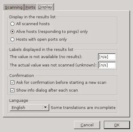 angry ip display settings