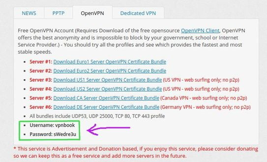 download openvpn certificate bundles