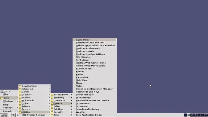 iceWM desktop environment