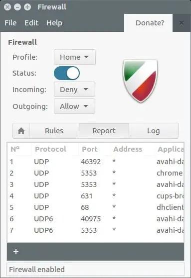 install firewall in ubuntu 16.04