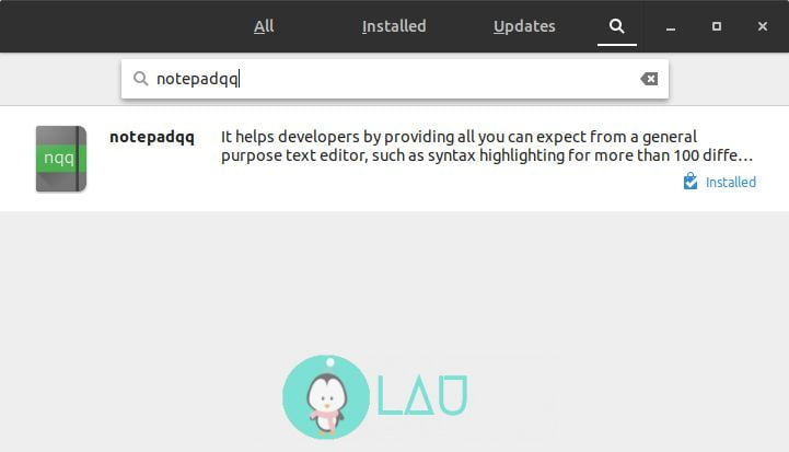 install notepadqq in linux software manager