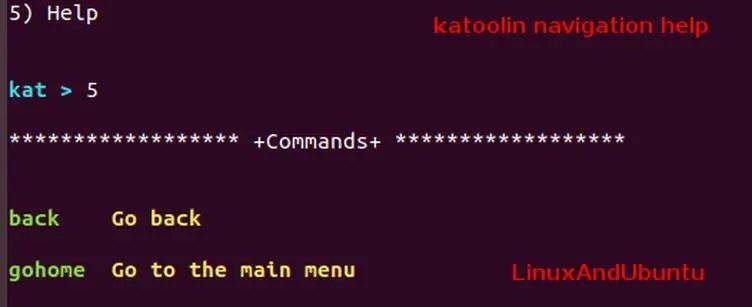 katoolin navigation help
